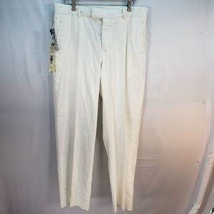Ralph Lauren Linen Cotton Pants 34x30 867 Madison